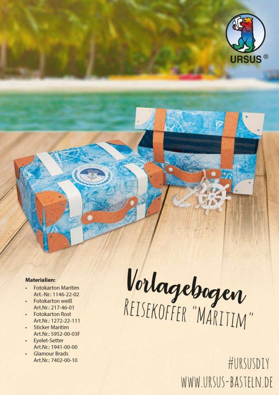 Bastelanleitung Maritim Koffer Seite 1