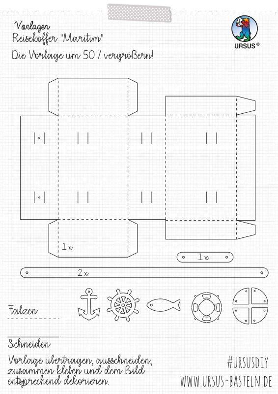 Bastelanleitung Maritim Koffer Seite 2