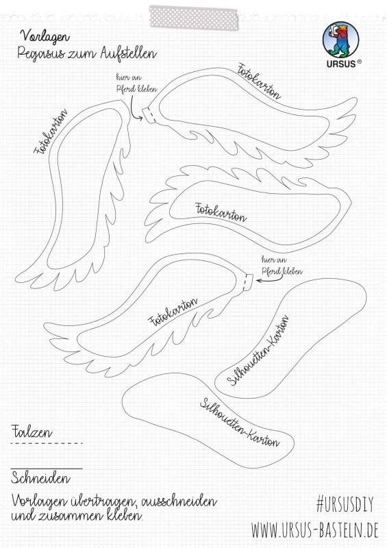 URSUS Bastelanleitung Pegasus Seite 3