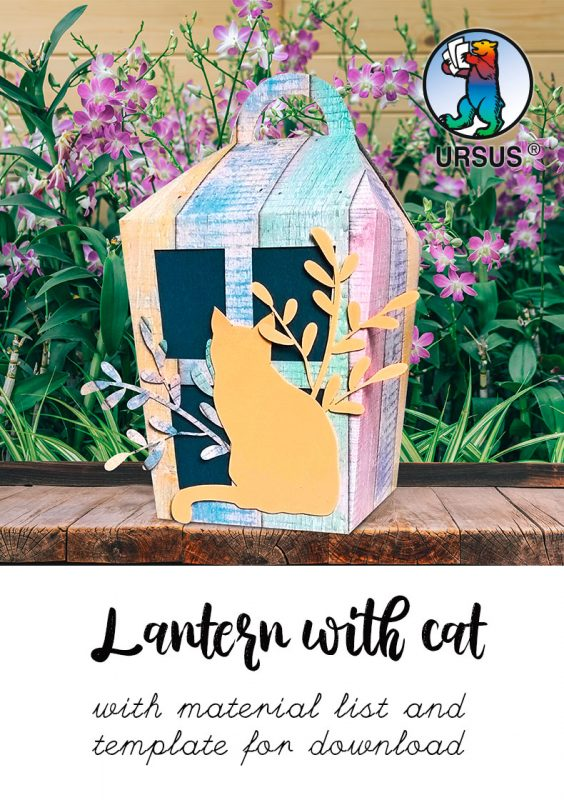 Instructions from URSUS Lantern with Cat download Info Picture