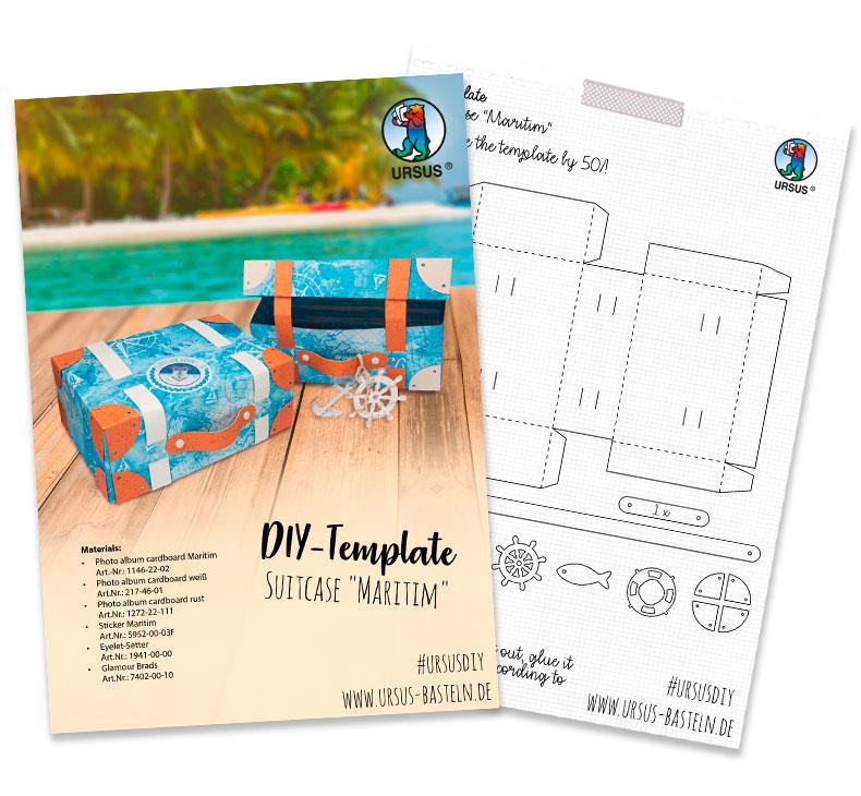 URSUS suitcase maritim sheets