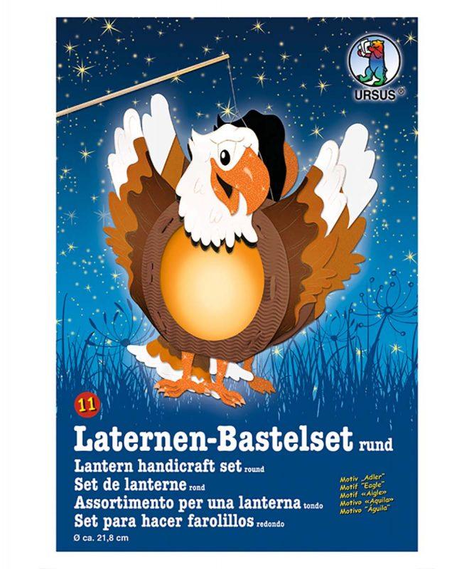 URSUS Laternen Bastelset Adler