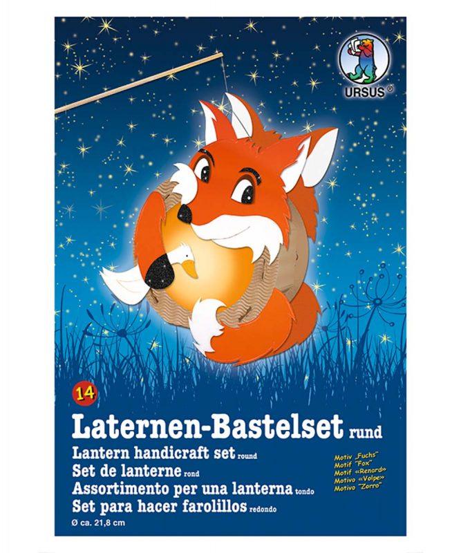 URSUS Laternen Bastelset Fuchs