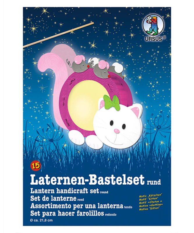 URSUS Laternen Bastelset Kätzchen