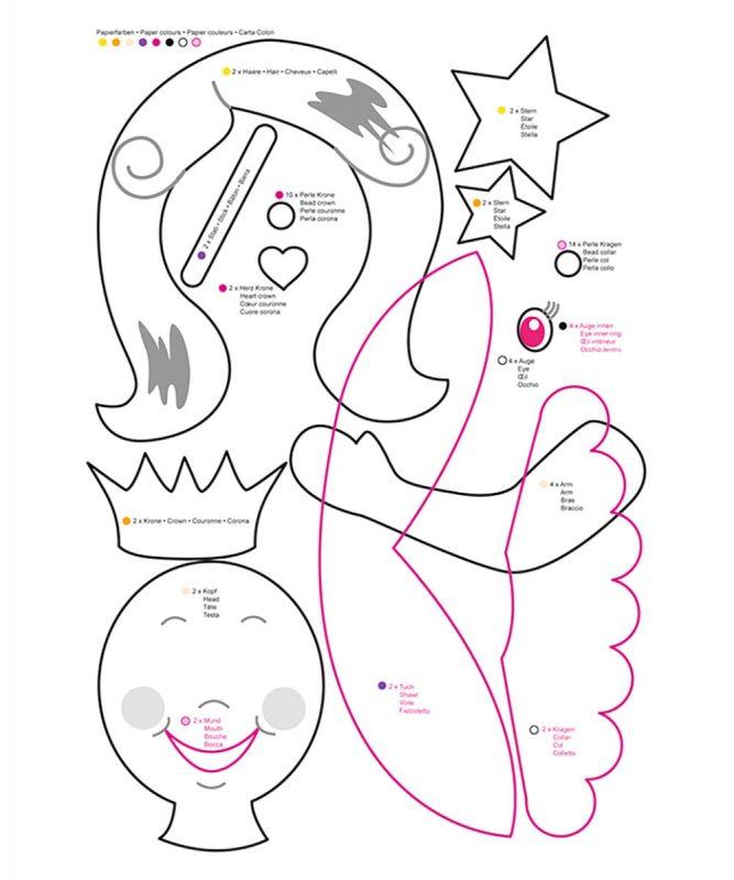 URSUS Laternen Bastelset Prinzessin