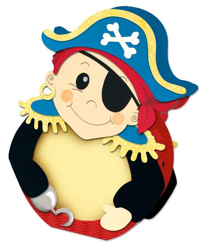 URSUS Laternen Bastelset Pirat 2