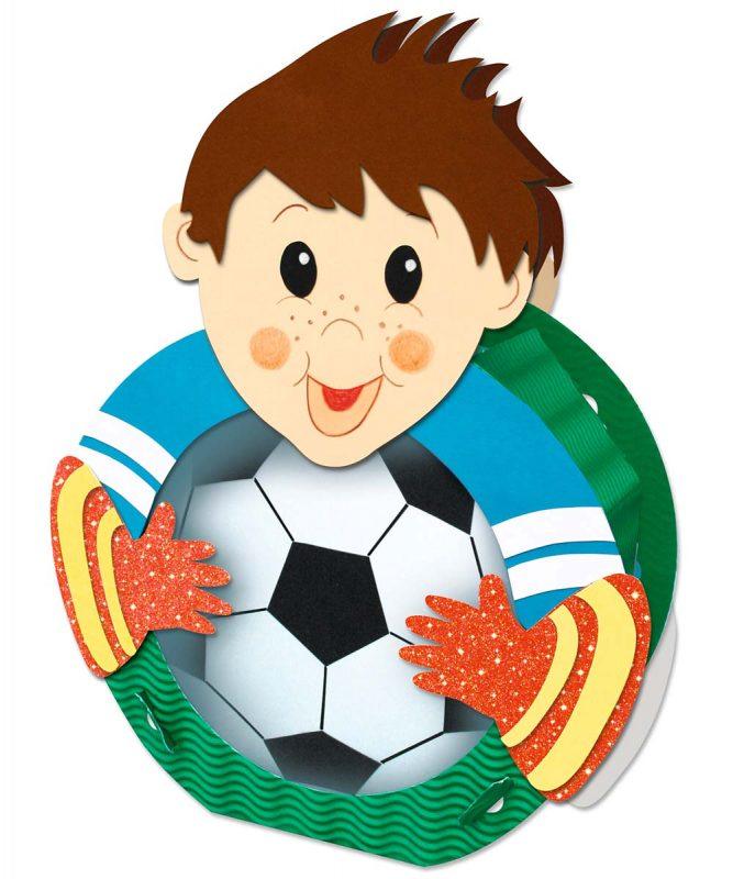 URSUS Laternen Bastelset Fußballer