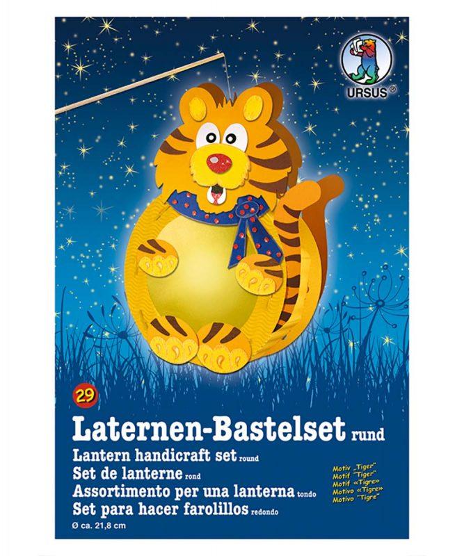 URSUS Laternen Bastelset Tiger