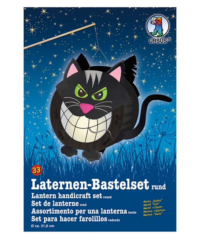 URSUS Laternen Bastelset Katze