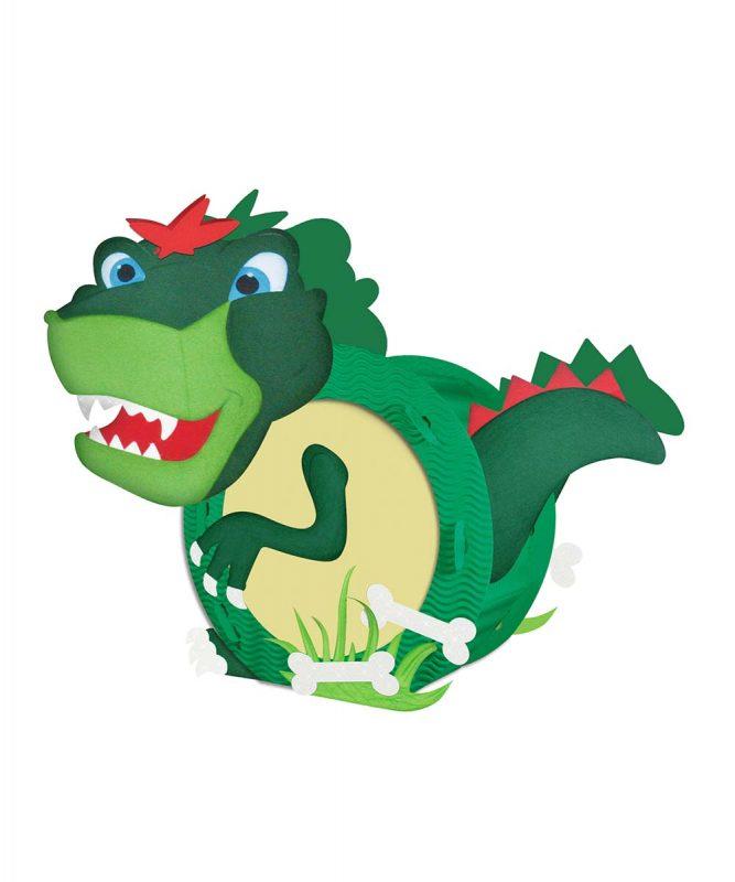 URSUS Laternen Bastelset T-Rex