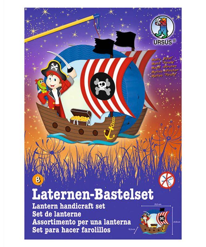 URSUS Easy Line Laternen Bastelset Pirat