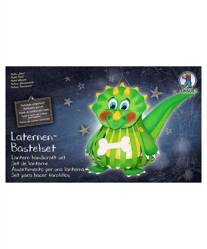 URSUS Laternen Bastelset Dino