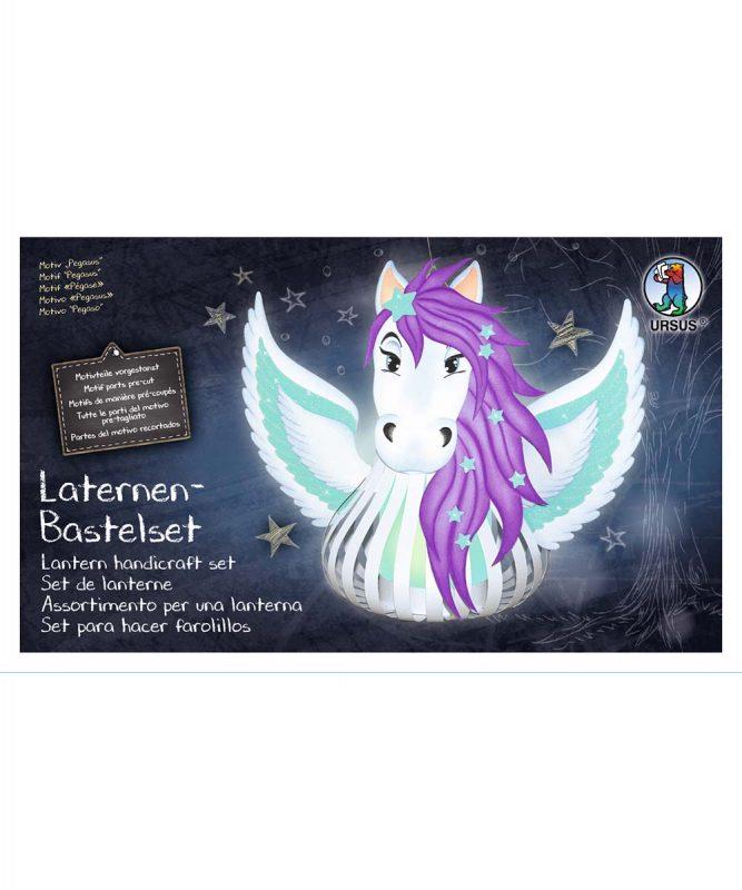 URSUS Laternen Bastelset Pegasus