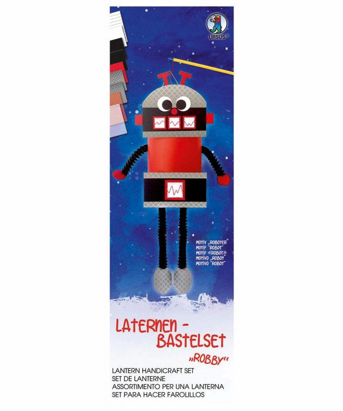URSUS Laternen Bastelset Roboter