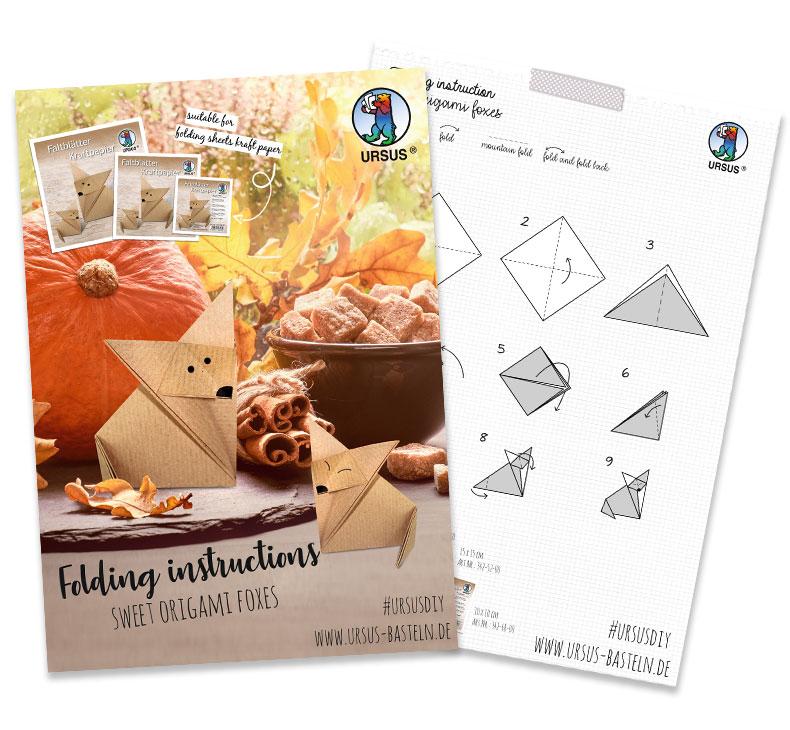 Origami Fox Manual