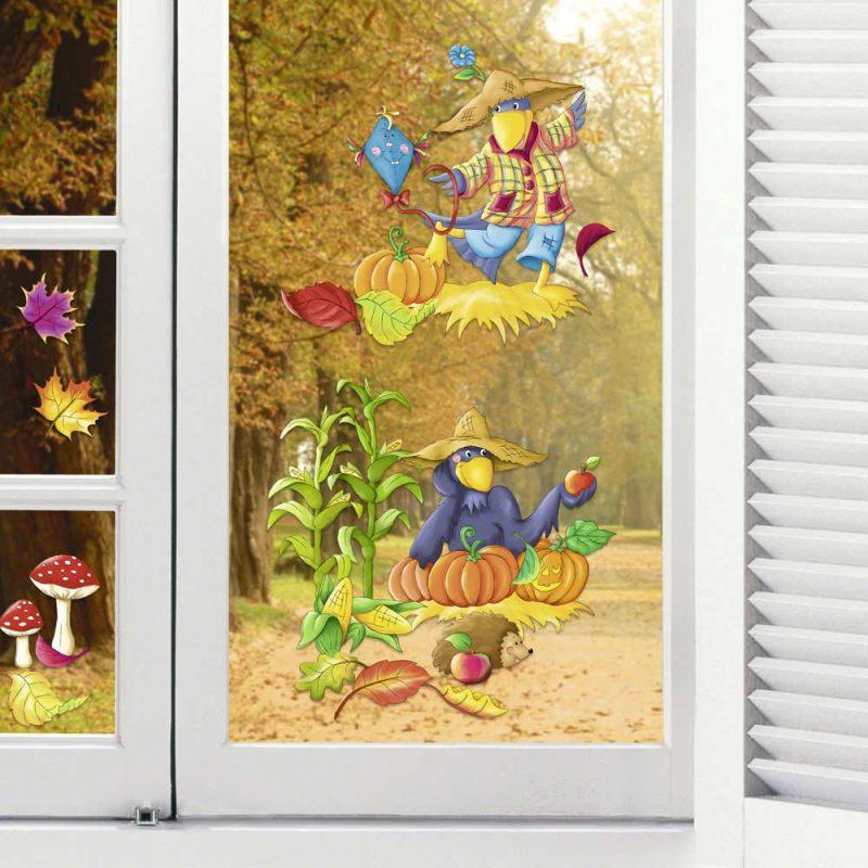 """Wand- und Fensterbild """"Herbst"""" Art.-Nr. 21270099F"""
