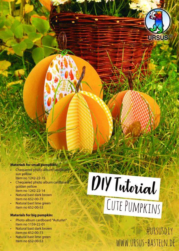 Handicrafts cute pumpkins cover sheet 1