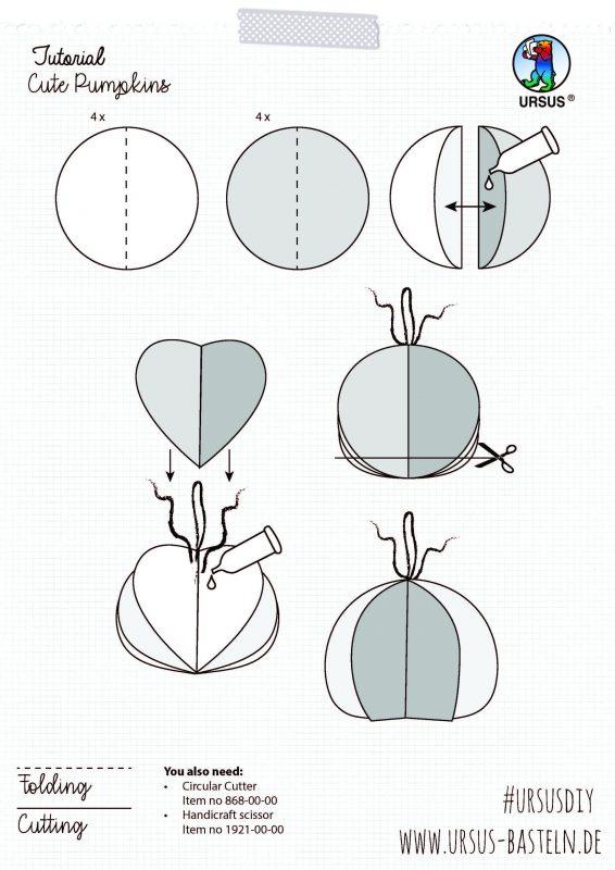 Handicrafts cute pumpkins cover sheet 2