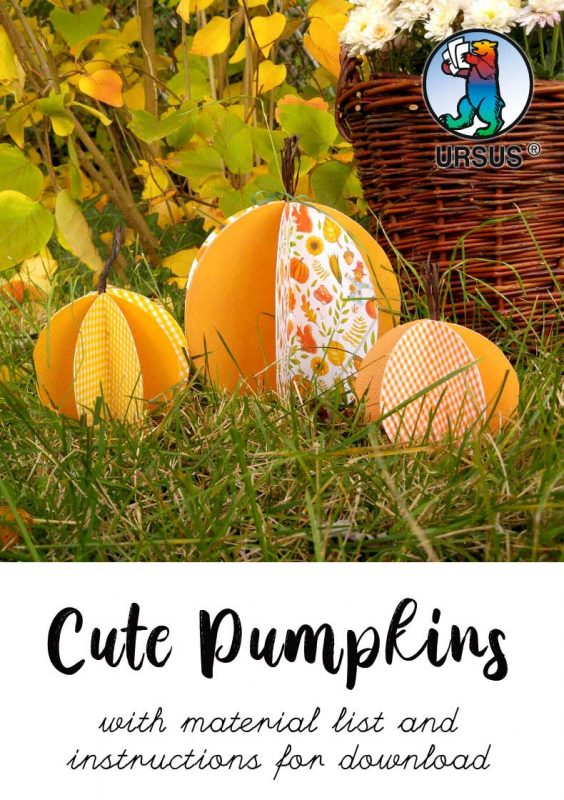 Handicrafts cute pumpkins cover sheet