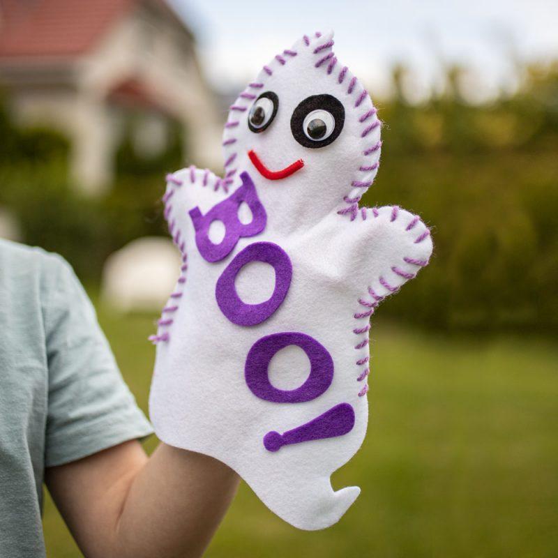 URSUS Handpuppe Ghost im Garten