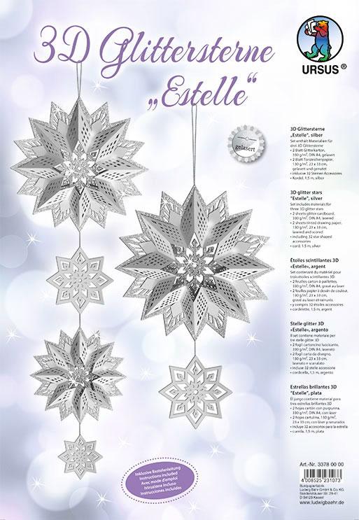 URSUS Glittersterne Estelle Silber 33780000