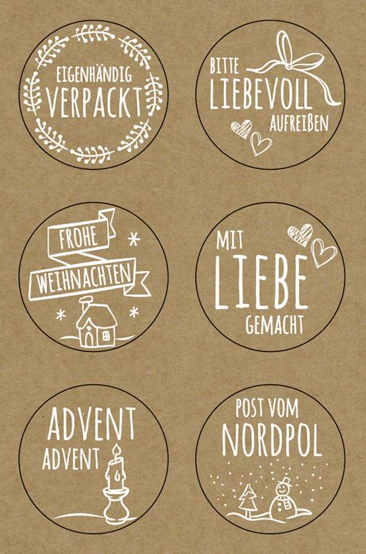 URSUS Sticker Weihnachten 59520001F