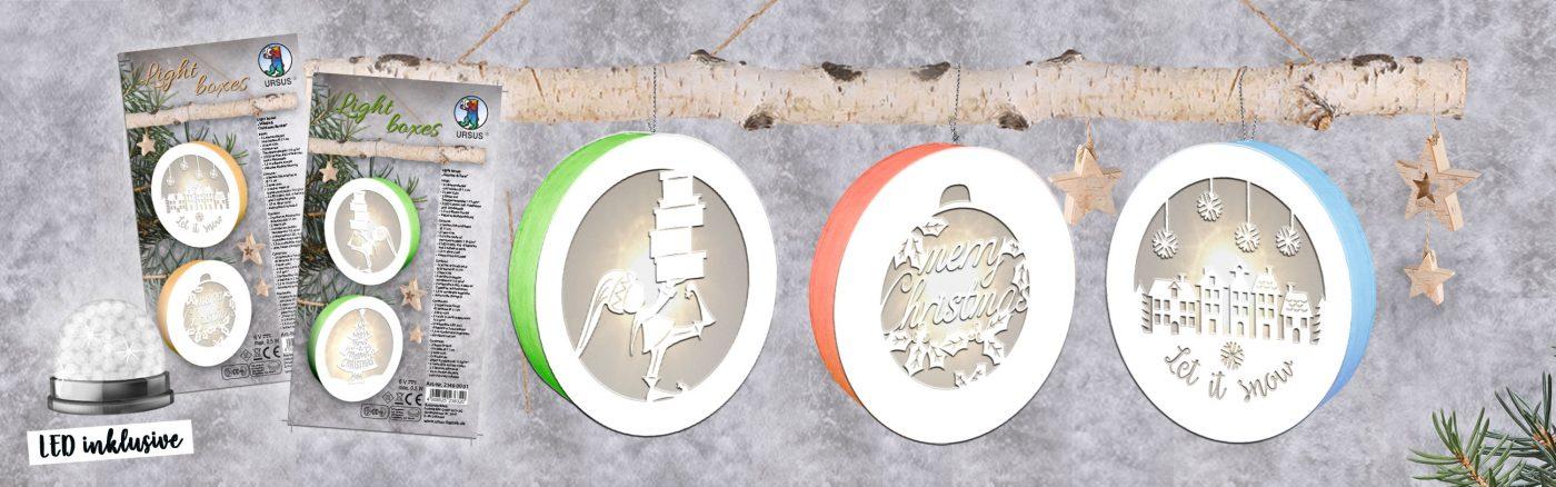URSUS® Light Boxes – wunderschöne Motive im Lichterglanz