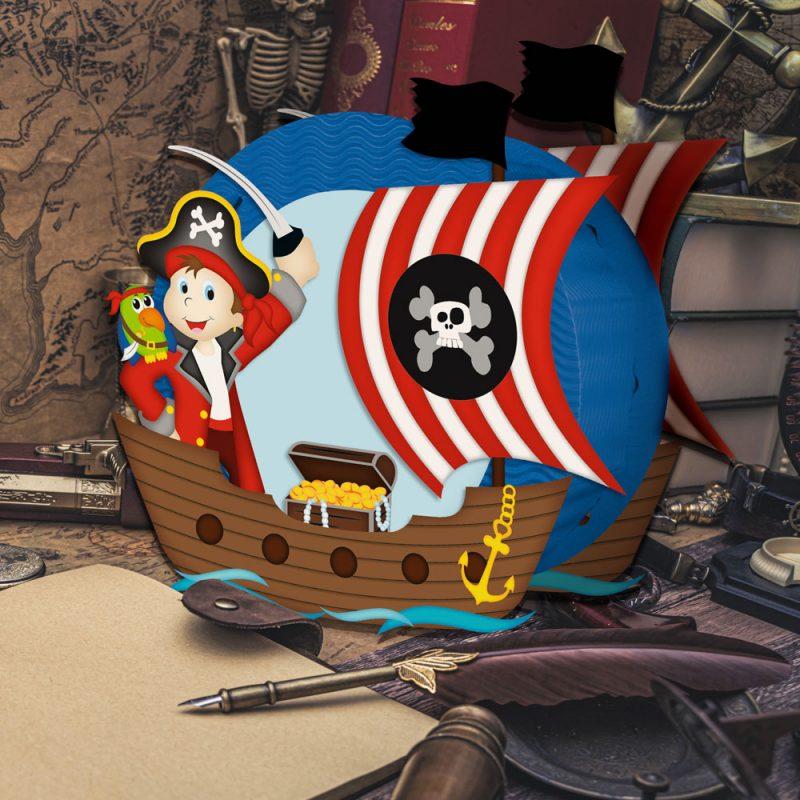 URSUS Laternenset Pirat