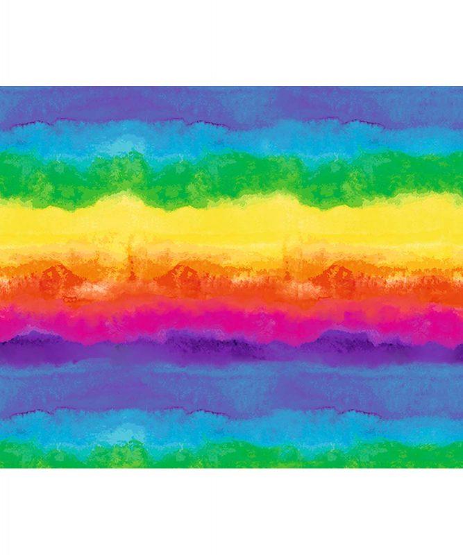 11332202 Motivfotokarton Aquarell Regenbogen