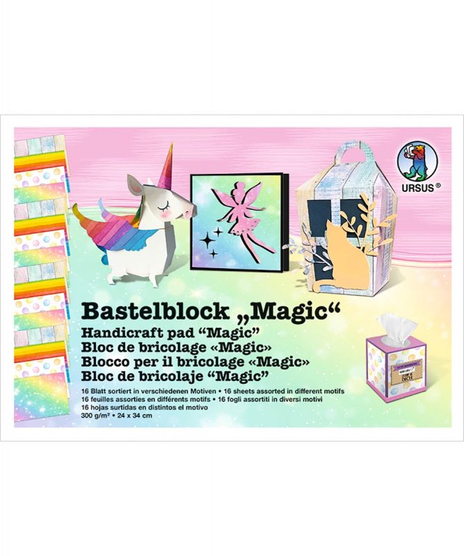 12690010 URSUS Bastelblock Magic