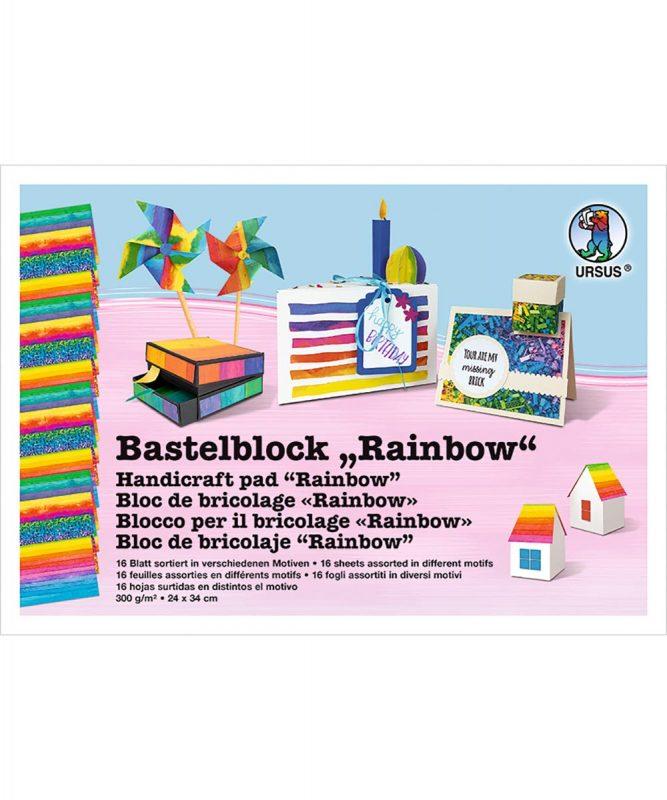 Bastelblock Rainbow URSUS 1269011