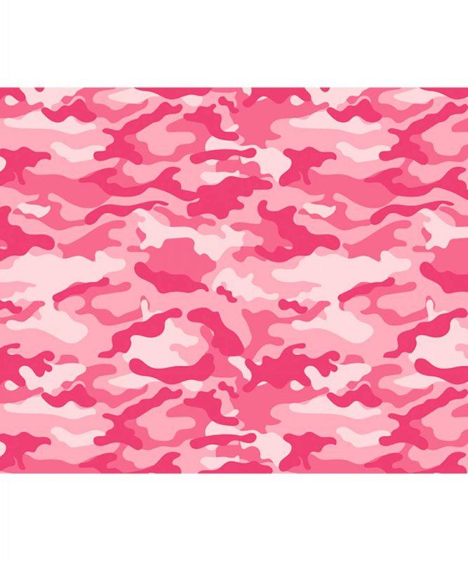 127222133 URSUS Motivfotokarton Camouflage pink