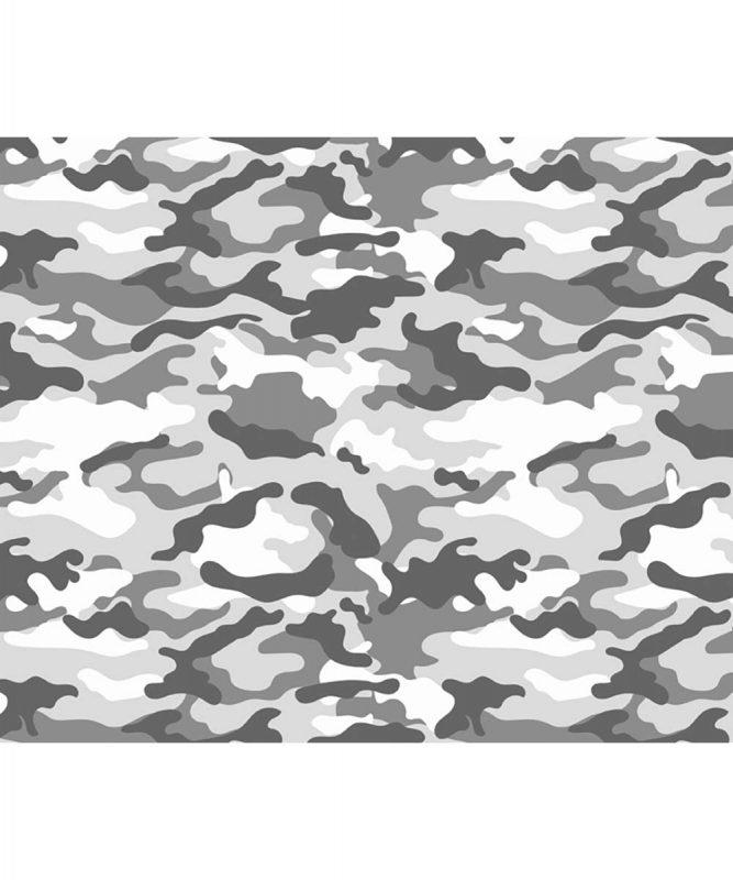 127222134 URSUS Motivfotokarton Camouflage grau