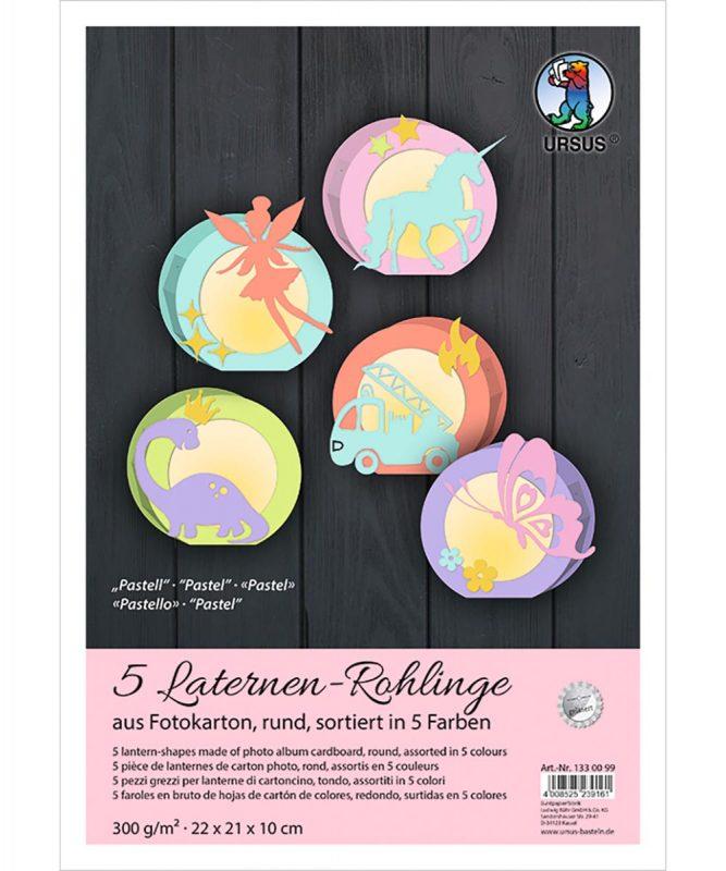 1330099 URSUS Laternen Rohlinge pastell