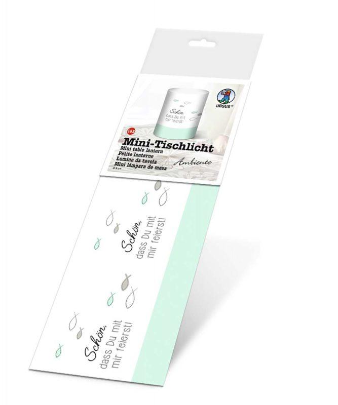 184000163 URSUS Mini Tischlicht mint