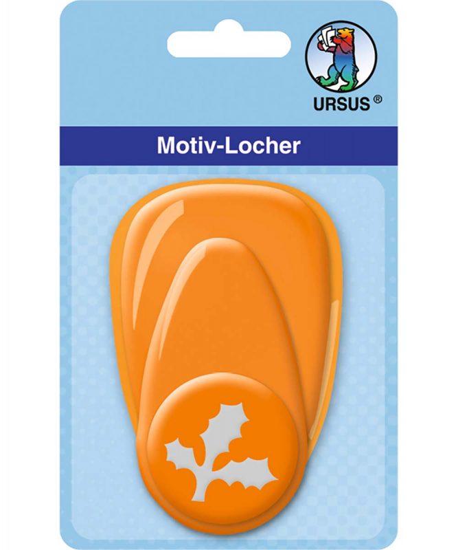 19480029 Motiv Locher Medium Ilex Blatt