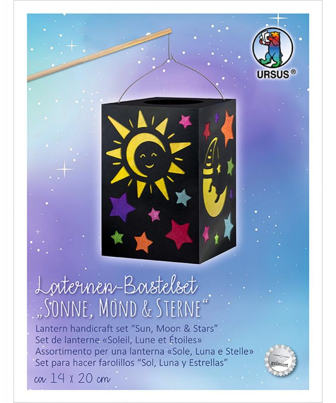 2370099 URSUS Laternen Bastelset Sonne Mond Sterne