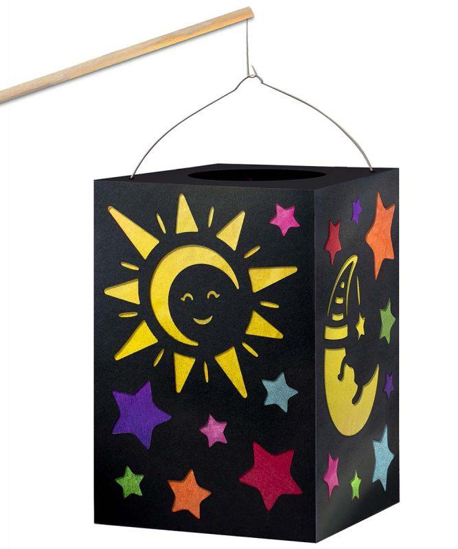 2370099 Laternen Bastelset Sonne Mond Sterne