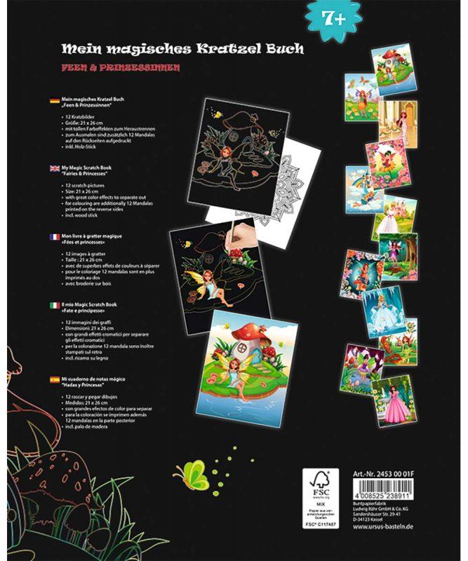 Mein magisches Kratzel Buch Feen Julia 24530001F
