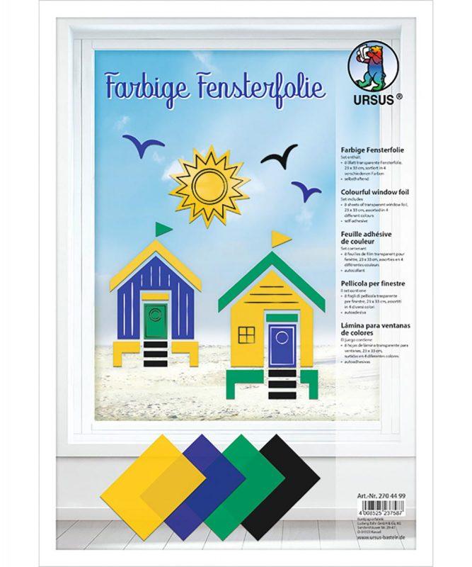 2704499 URSUS Farbige Fensterfolie