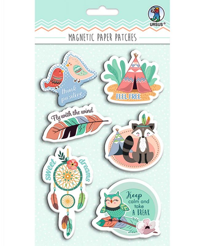 43010001 Magnetic Paper Patches Dream