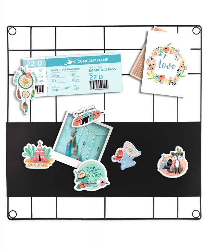 43010001 Magnetic Paper Patches