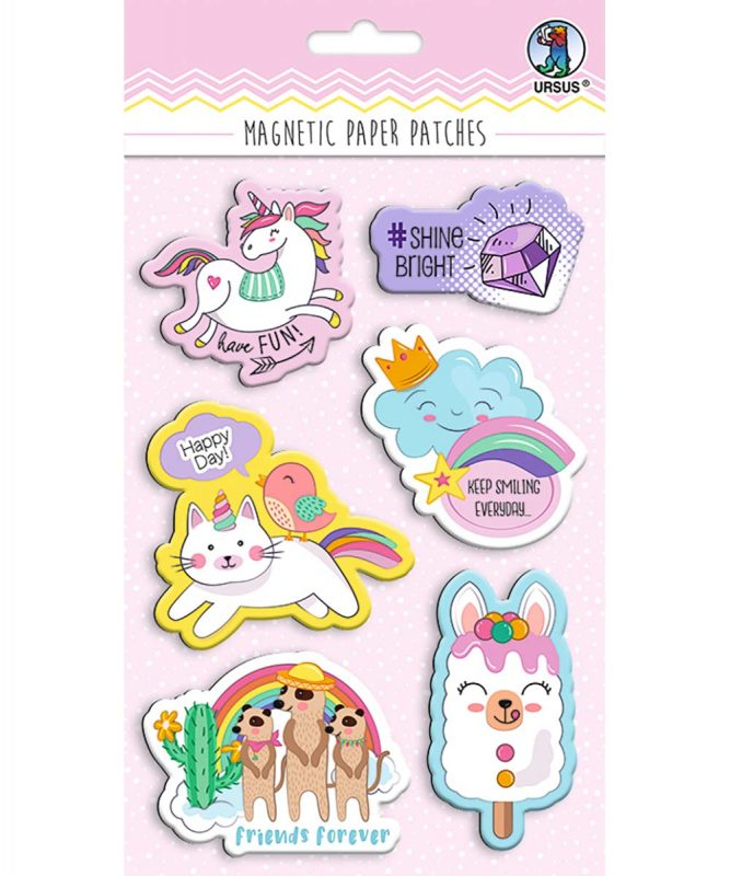 43010003 Magnetic Paper Patches Magic