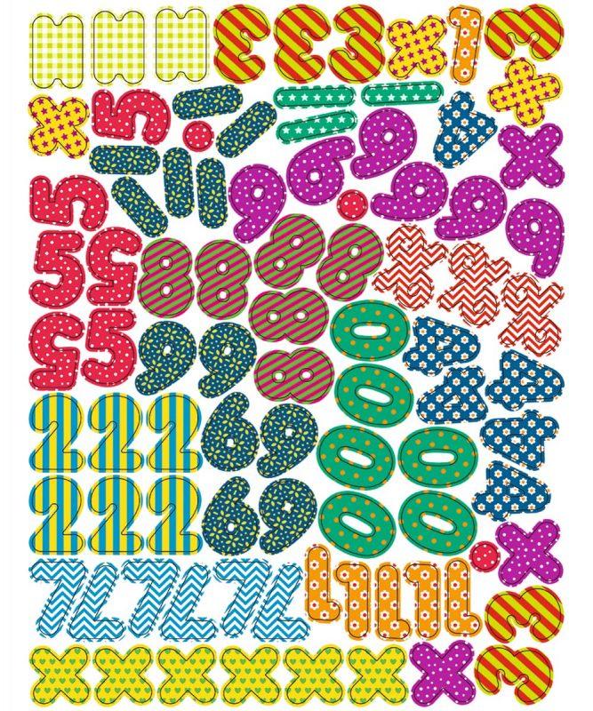 43110099 Magnete Zahlen und Symbole
