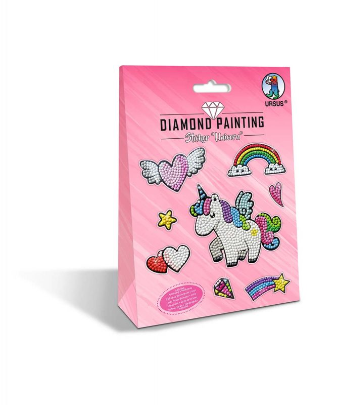 43500001 Diamond Painting Sticker Unicorn
