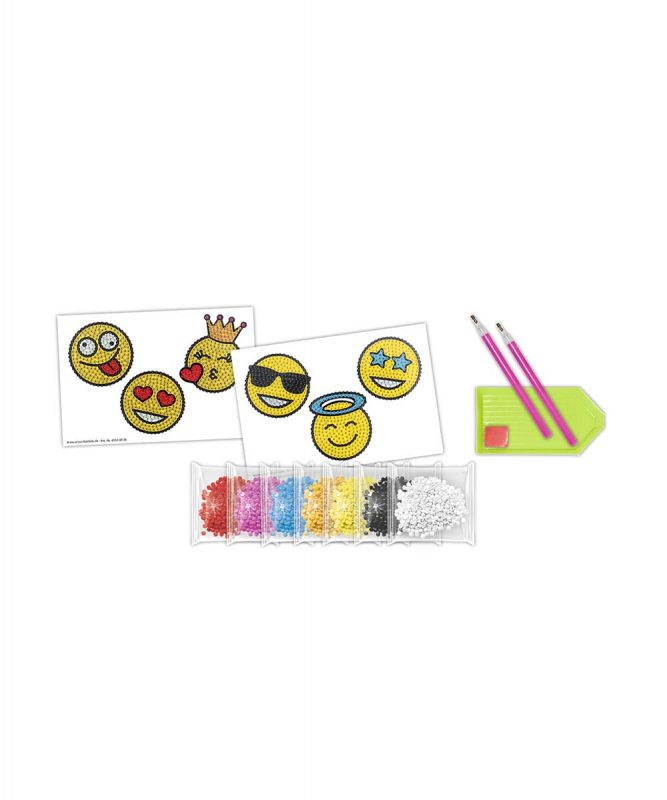 43500006 Diamond Painting Sticker Smileys