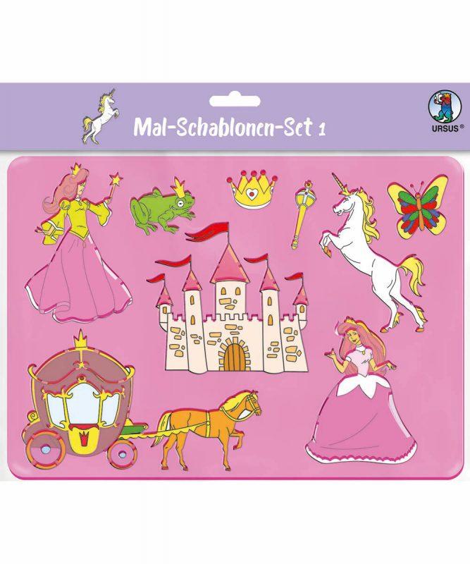 44100001 Mal Schablonen Set 1