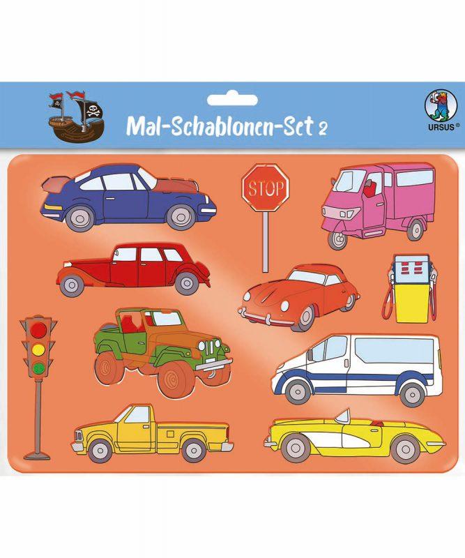 44100002A Mal Schablonen Set 2