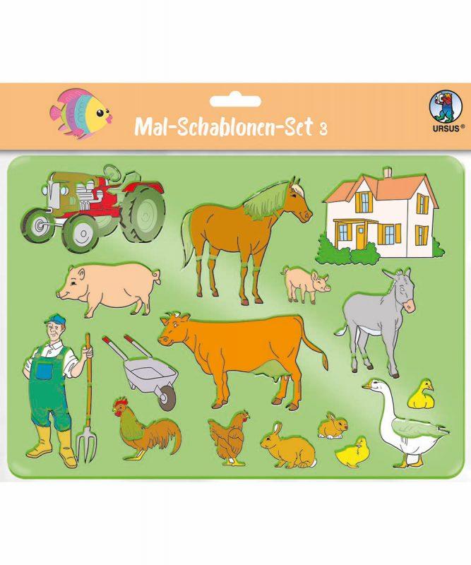 44100003 Mal Schablonen Set 3