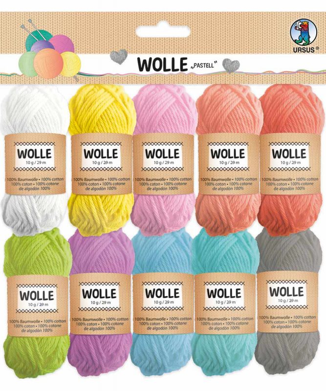 56050099 URSUS Wolle Pastell